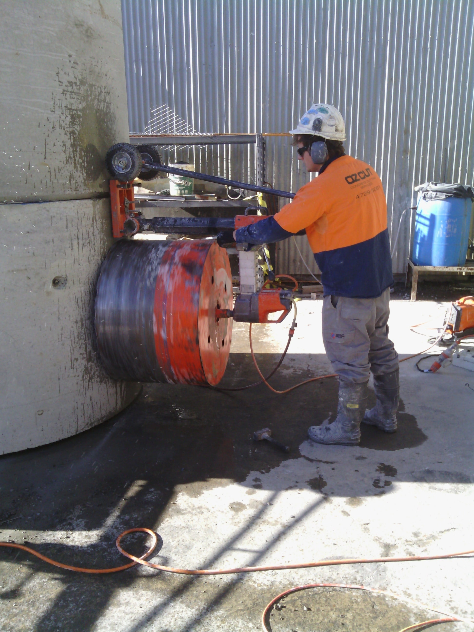Cutting Holes In Concrete : Core drilling ozcut concrete cutting